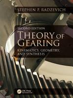 Theory of Gearing PDF
