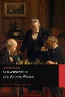 Schachnovelle und Andere Werke  Graphyco Deutsche Klassiker  PDF