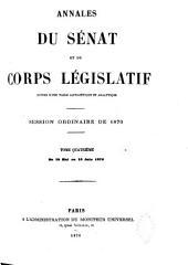 Annales du Sénat et du Corps législatif: Volume4