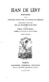 Histoire d'un voyage faict en la terre du Brésil: Volume2