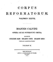 Corpus Reformatorum Book PDF