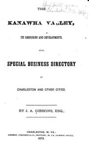 The Kanawha Valley Book