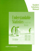 Student Solutions Manual for Brase Brase S Understandable Statistics  11th