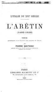 L'Italie du XVIe siècle: Volume1