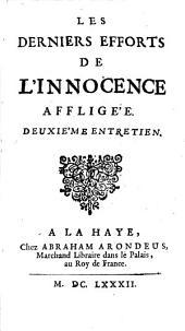 Les Derniers Efforts De L'Innocence Affligée: Volume2