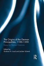 The Origins of the German Principalities, 1100-1350