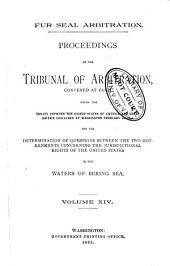 Fur Seal Arbitration: Volume 14