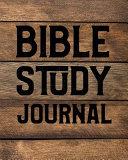 Bible Study Journal Book PDF