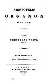 Organon Graece: Volume 2