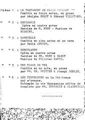 Le testament de César Girodot: comédie en trois actes en prose
