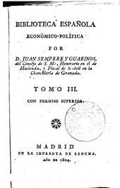 Biblioteca española económico-política, 2