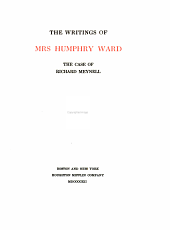 The Writings of Mrs. Humphry Ward: Volume 16