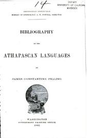 Bibliography of the Athapascan Languages: Issue 14
