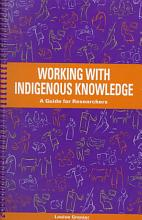 Working with Indigenous Knowledge PDF