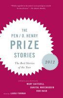 The PEN O  Henry Prize Stories 2012 PDF