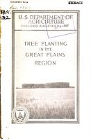 Tree Planting in the Great Plains Region PDF