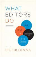 What Editors Do PDF