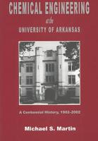 Chemical Engineering at the University of Arkansas PDF