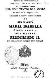 Anna Bolena tragedia lirica in due atti [la musica è del sig. maestro Gaetano Donizzetti]