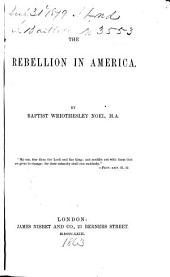 The Rebellion in America