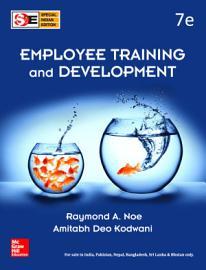 Employee Training And Development  7e