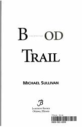 Blood Trail Book PDF