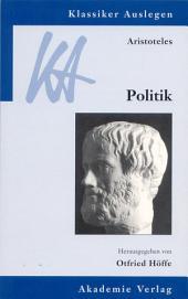 Aristoteles: Politik