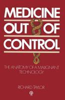 Medicine Out of Control PDF