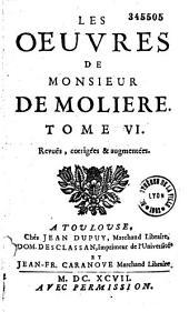 Les oeuvres de Monsieur de Molière