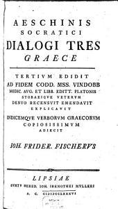 Dialogi tres
