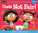 That s Not Fair  Shared Reading Book  Lap Book