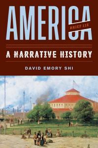 America: A Narrative History Book