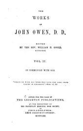The Works of John Owen: Volume 2