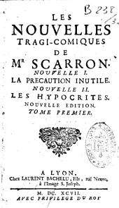 Les nouvelles tragi-comiques de Mr Scarron