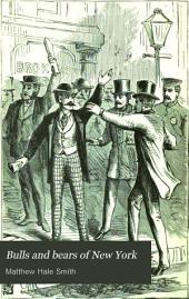 Bulls and Bears of New York: With the Crisis of 1873 and the Cause