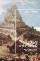 The Lost History of Cosmopolitanism PDF