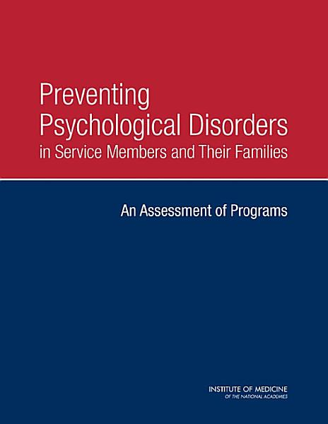 Download Preventing Psychological Disorders in Service Members and Their Families Book