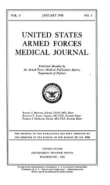 United States Armed Forces Medical Journal PDF