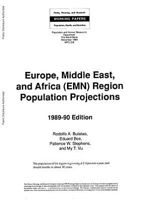 Europe  Middle East  and Africa  EMN  Region Population Projections PDF