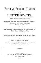 Popular School History of United States PDF