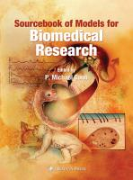 Sourcebook of Models for Biomedical Research PDF