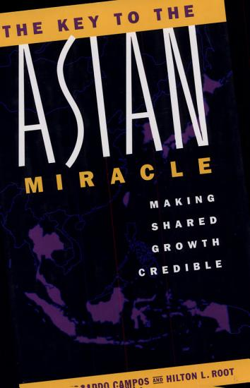 The Key to the Asian Miracle PDF