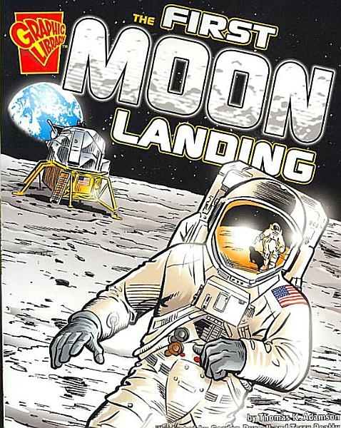 Download The First Moon Landing Book