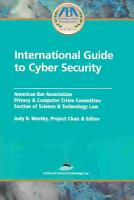 International Guide to Cyber Security PDF