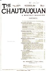 The Chautauquan: Volume 26