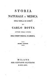 Storia naturale e medica dell'isola di Corfù