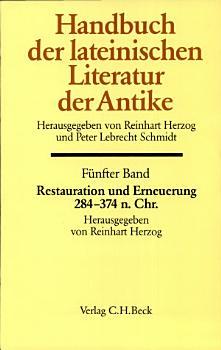 Handbuch der lateinischen Literatur der Antike PDF