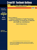 Outlines and Highlights for Health Psychology Health Psychology PDF