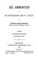 Die Ammoniten des Schw  bischen Jura PDF