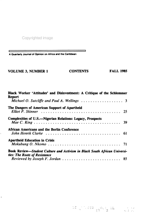 Transafrica Forum PDF